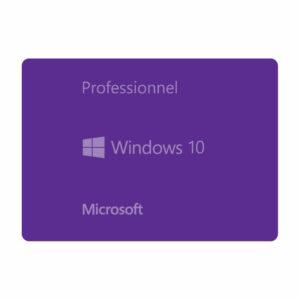 Microsoft Windows 10 Professionnel 32/64 bits | en téléchargement |1PC|1CPU